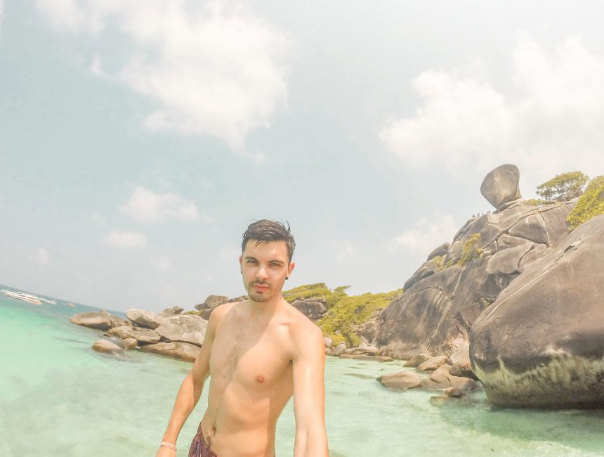 Sam Similan eilanden