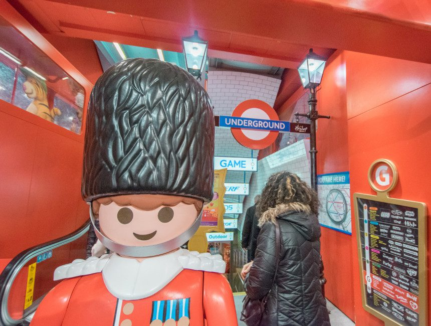 shoppen in Londen Hamleys