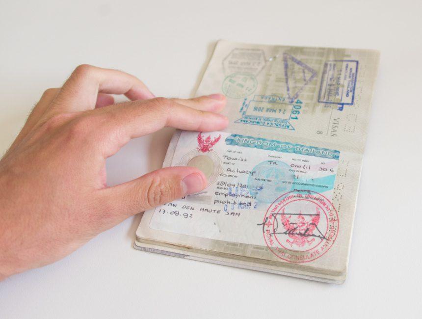 visum Thailand rondreis