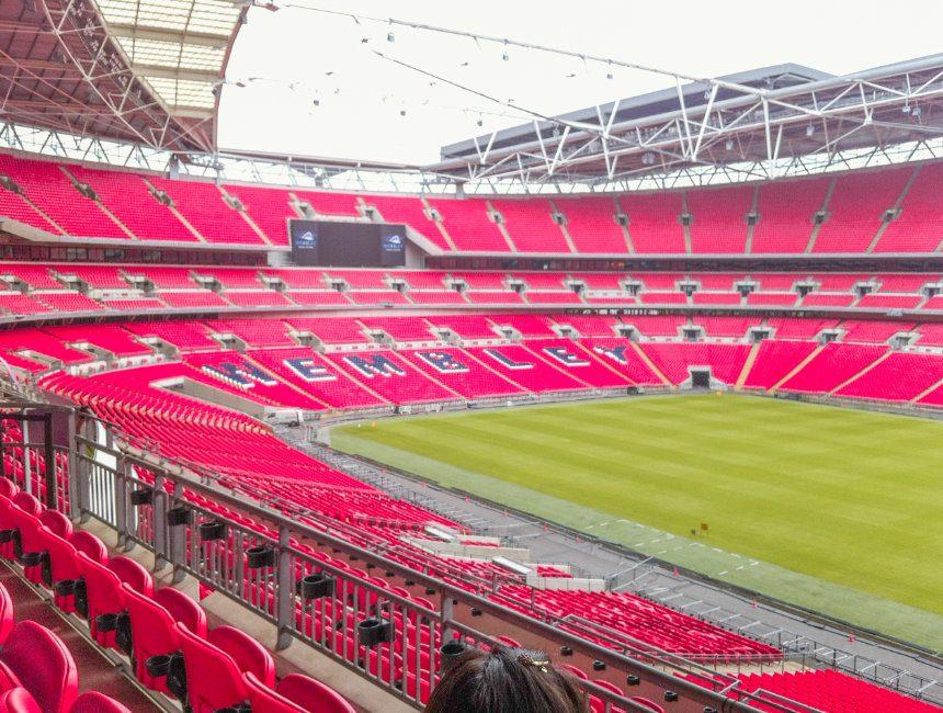 wat te doen in Londen Wembley Stadion