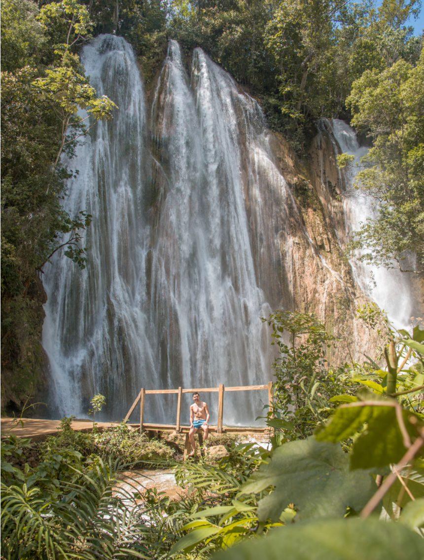 El Limon waterval bezienswaardigheden Dominicaanse Republiek