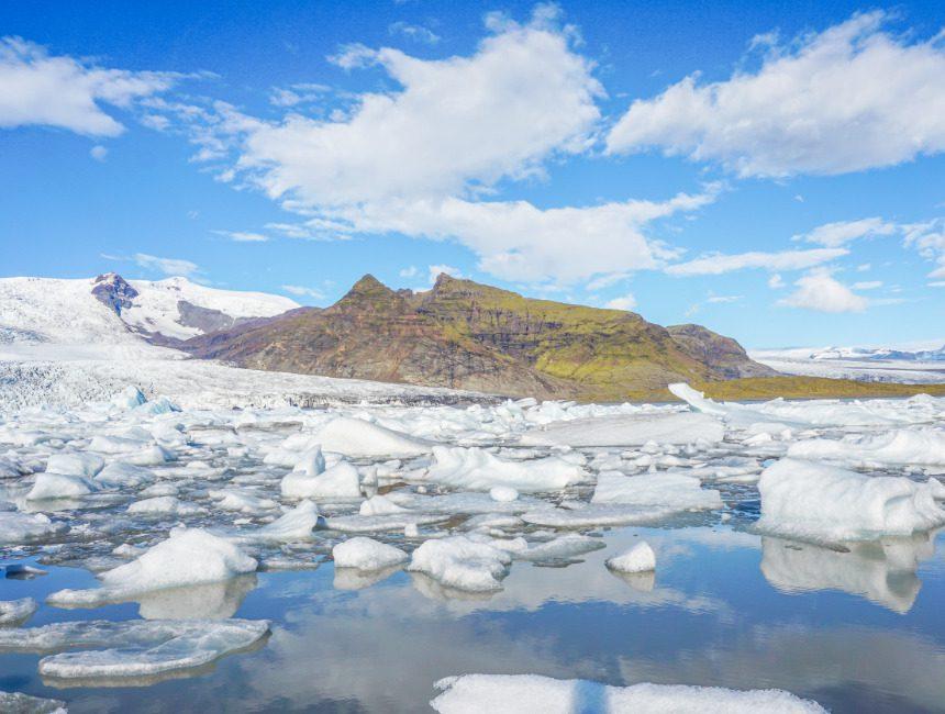 Fjallsarlon gletsjermeer IJsland bezienswaardigheden