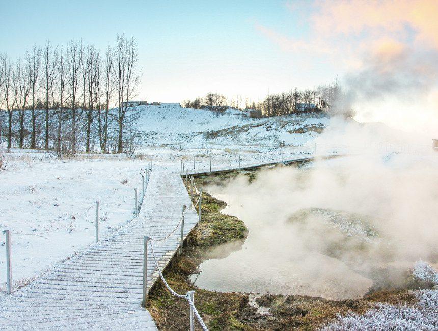 secret Lagoon IJsland