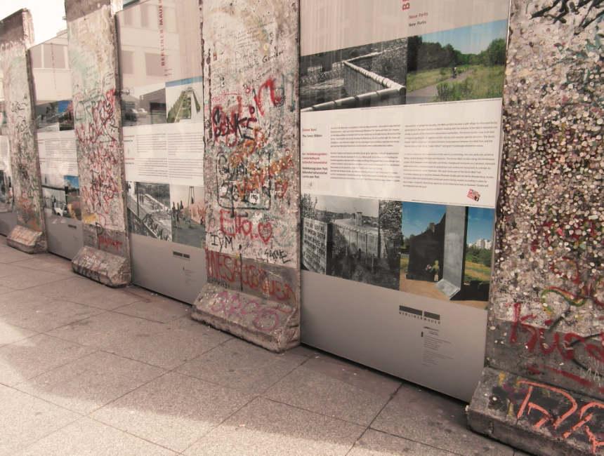 Berlijnse muur bezoeken