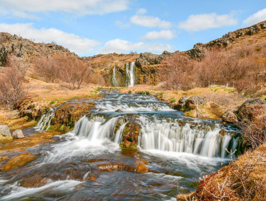 bezienswaardigheden IJsland Gjain Vallei