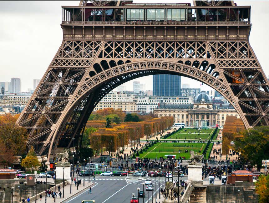 Eiffeltoren beklimmen