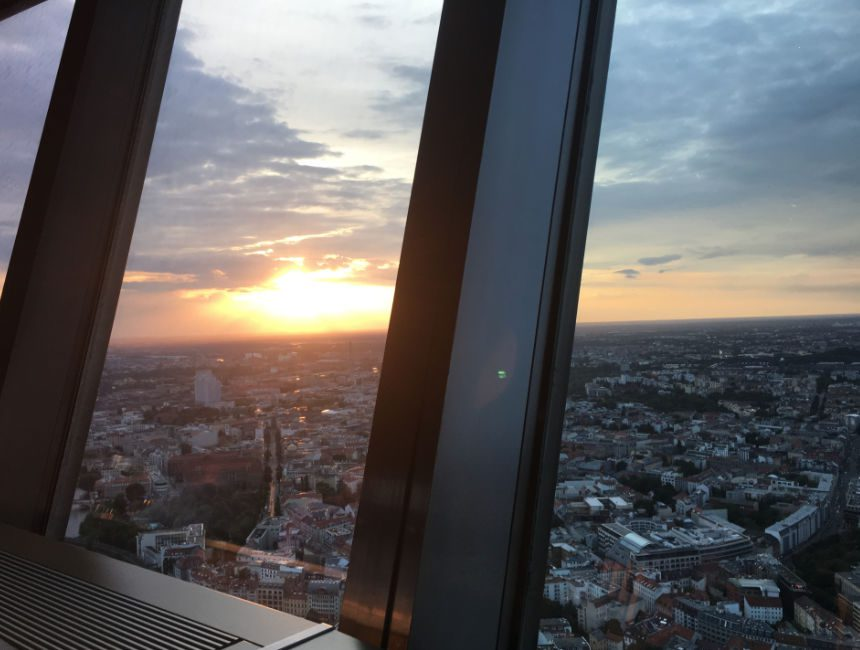 uitzicht fernsehturm