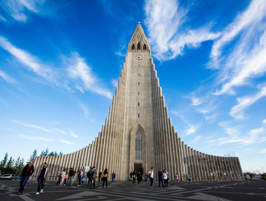 hallgrimskirka ijsland golden circle tour