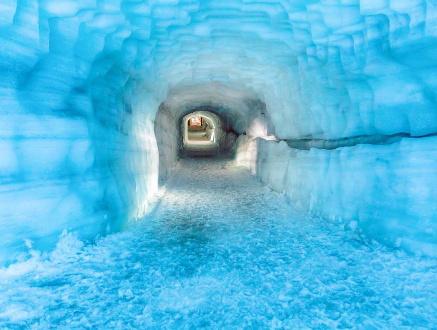 Langjökull gletsjer ijstunnel bezienswaardigheden IJsland