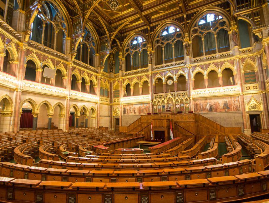 bezienswaardigheden boedapest parlement binnen