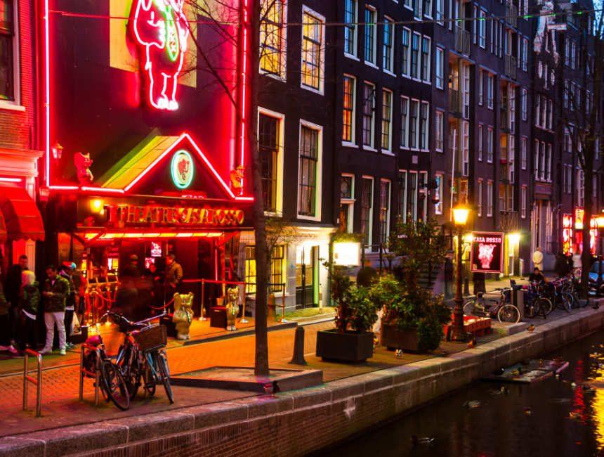 Casa Rosso theater Amsterdam