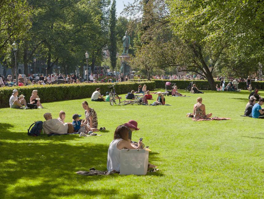 esplanade park helsinki bezienswaardigheden