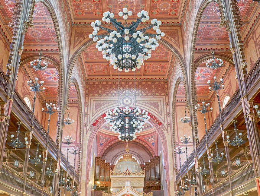 grote synagoge boedapest binnenkant