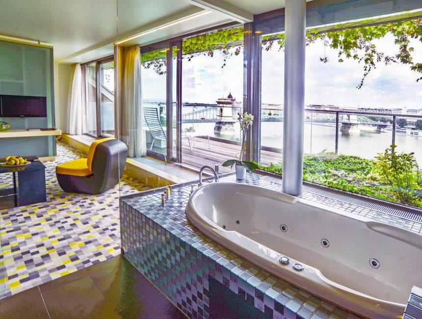 Lanchid 19 design hotel Boedapest