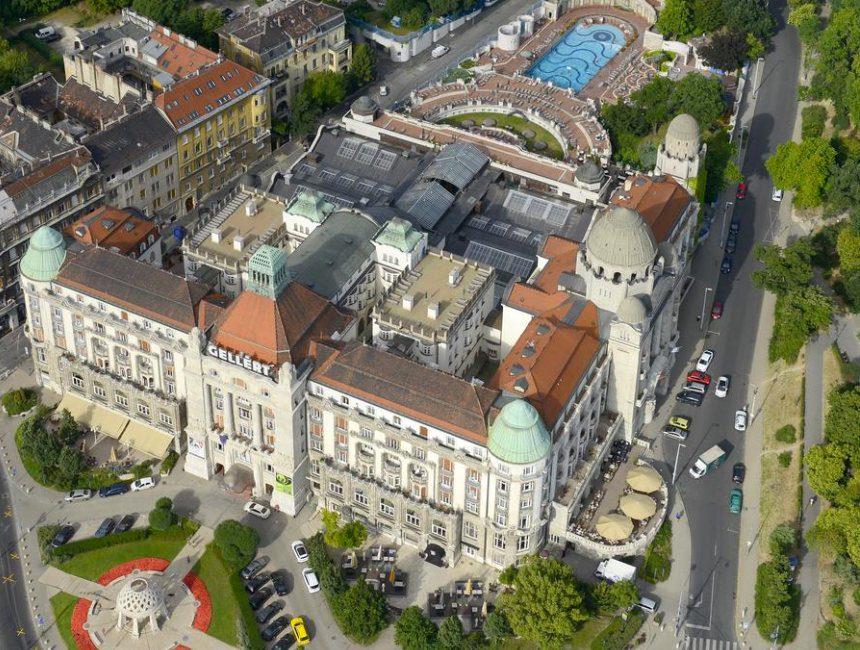 Danubius Hotel Gellert mooiste badhuizen boedapest