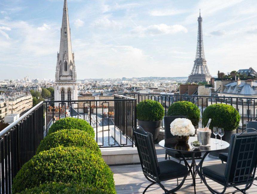 Hotel George V Parijs