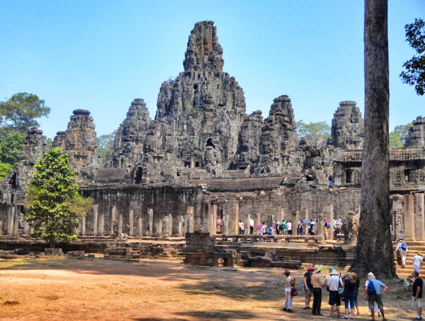 Angkor Thom tempel in Angkor Wat