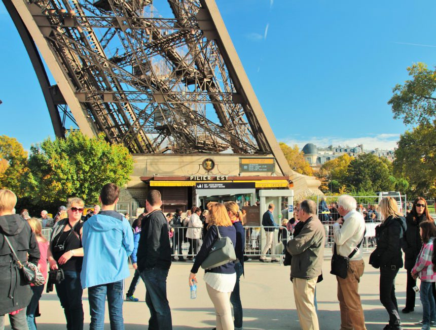 Eiffeltoren tickets zonder wachtrij