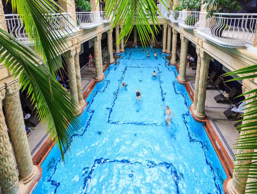 Gellert badhuis Boedapest