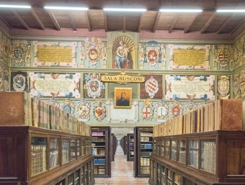 dingen om te doen in Bologna Biblioteca comunale dell'Archiginnasio