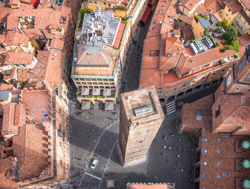 bezienswaardigheden Bologna twee torens