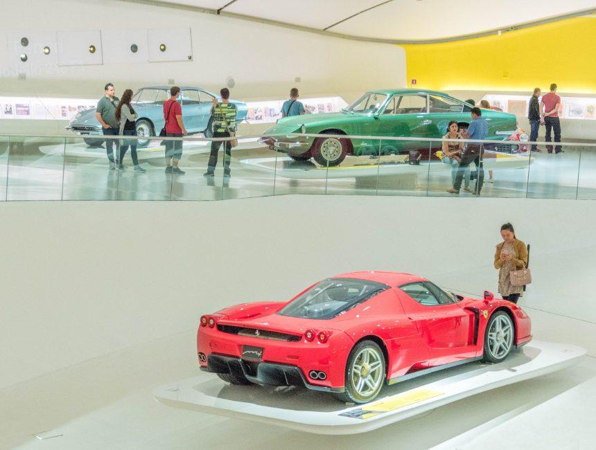 Ferrari museum Bologna