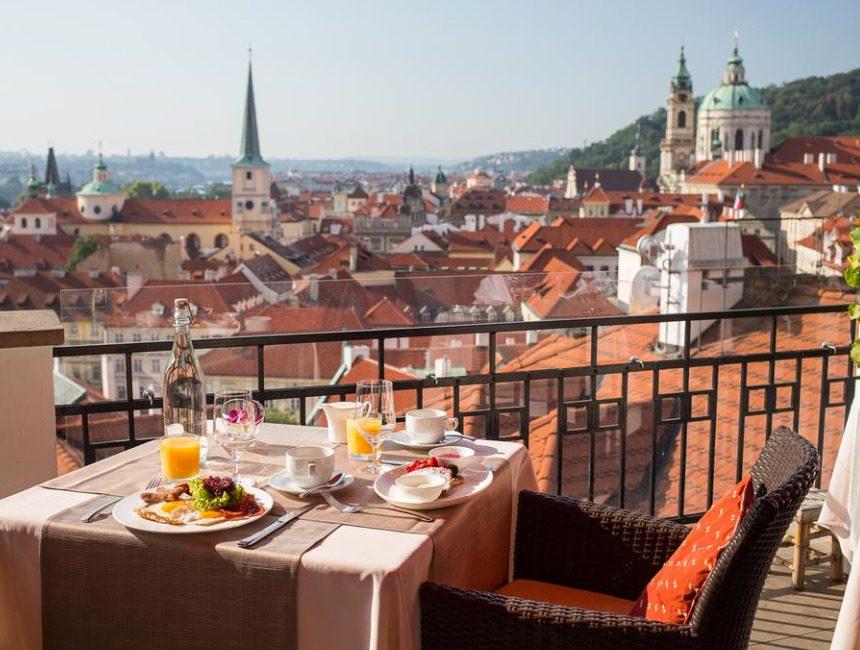 Golden Well hotel Praag