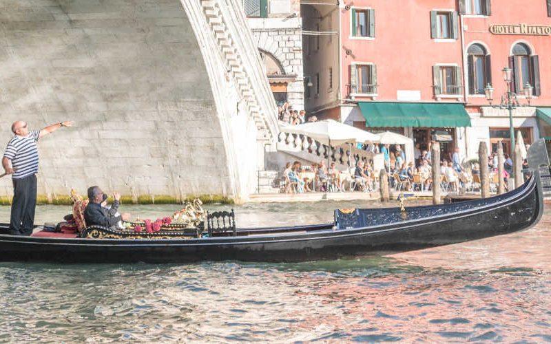 Venetië gondel
