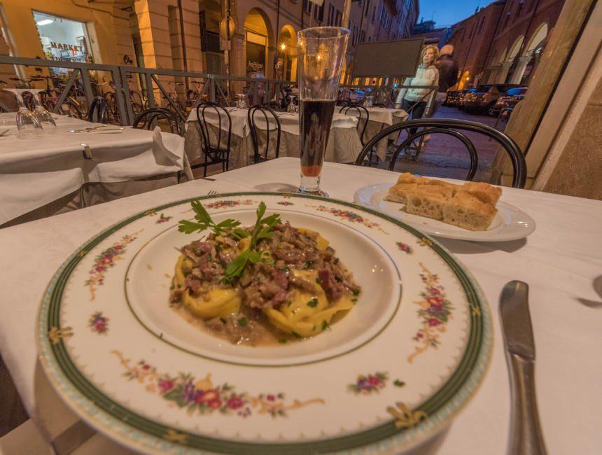 incorccio montegrappa restaurants Bologna