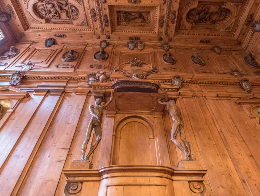 anatomisch theater bibliotheek bologna