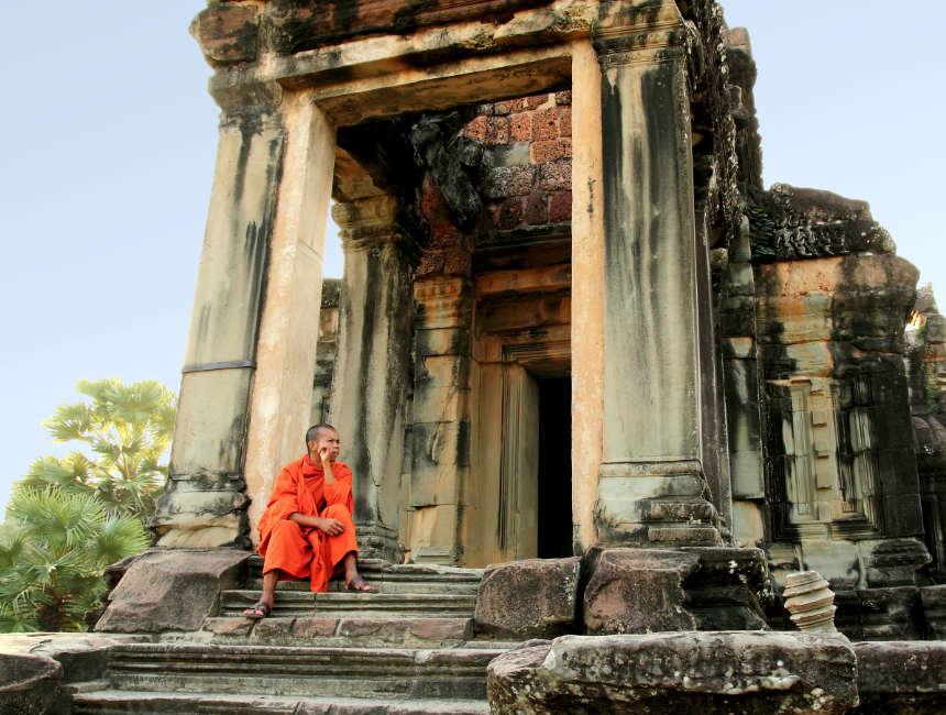 angkor wat monnik