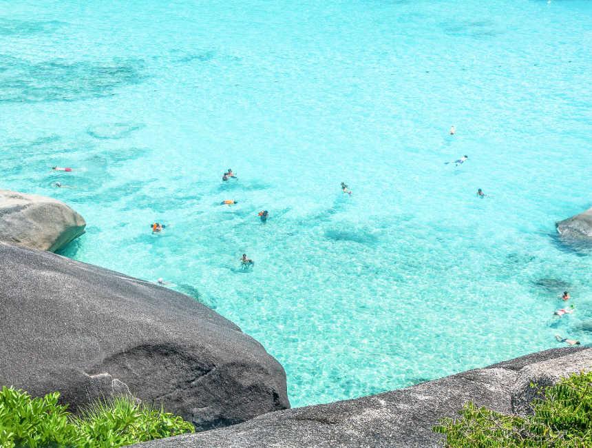 duiken similan eilanden snorkelen
