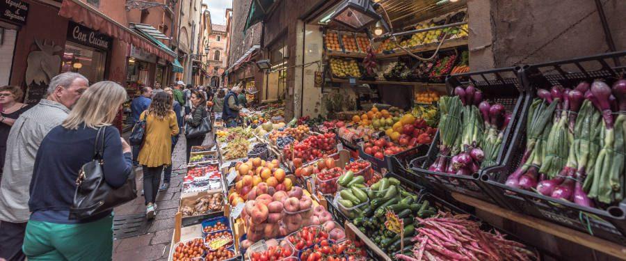 eten italië markten