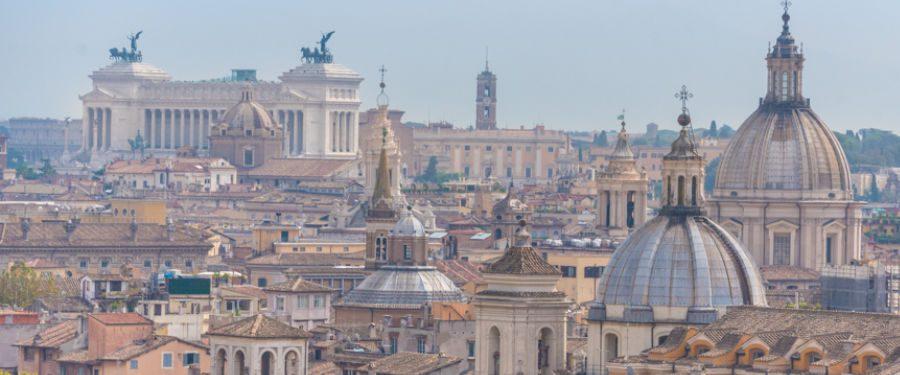 rome uitzicht reisgids Italië