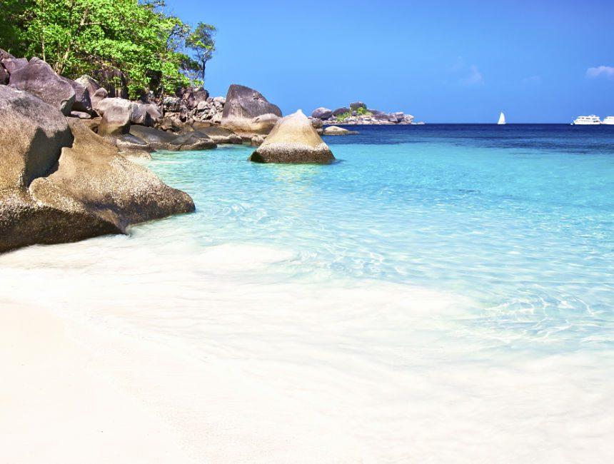 similan eilanden stranden