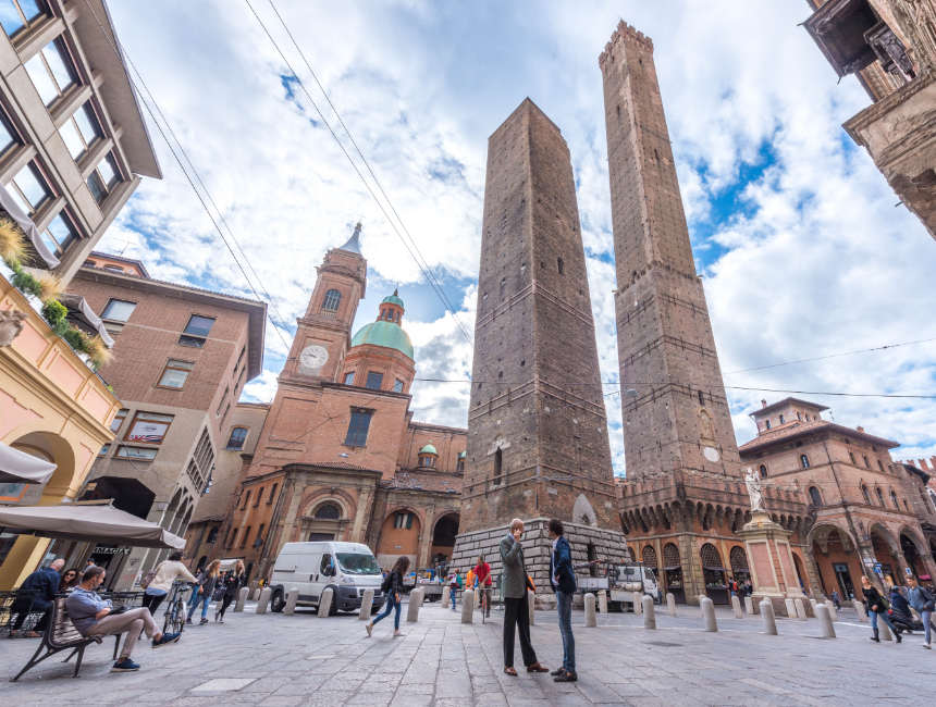 twee torens van Bologna
