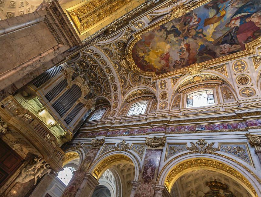 san luigi dei franceski kerk rome