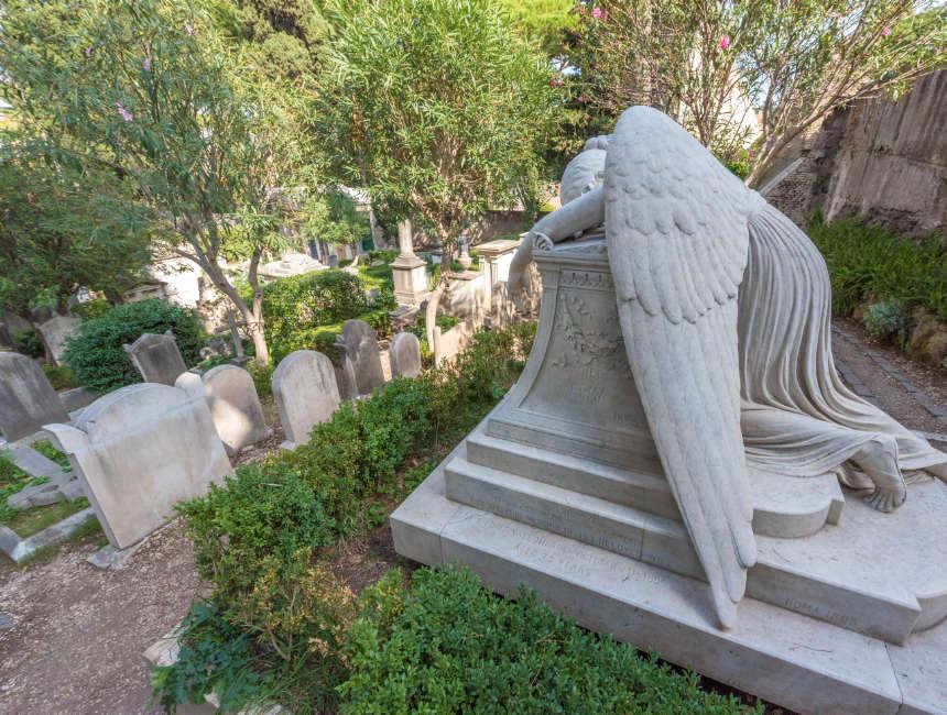 begraafplaats voor niet katholieken Rome
