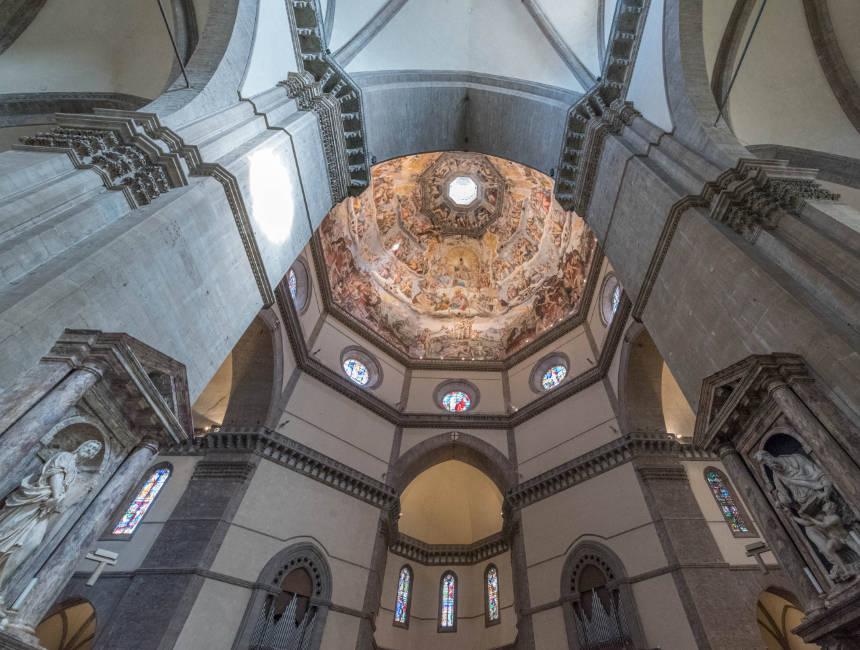 binnenkant kathedraal florence