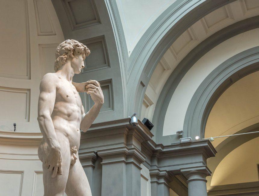 david van Michelangelo galleria dell'Accademia florence