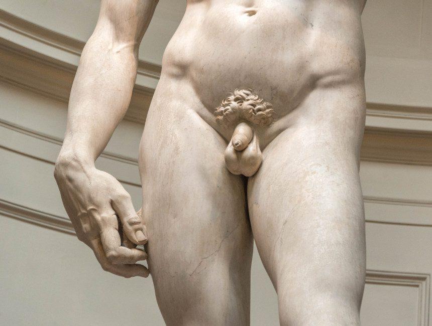 david van michelangelo piemel rechterhand uit proportie