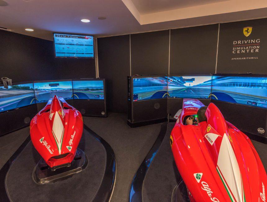 Ferrari F1 simulatie museum