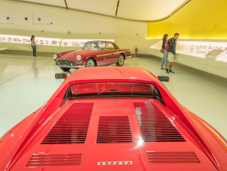 Ferrari museum Modena bezoeken