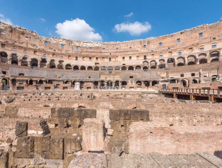 flavisch amfitheater colosseum rome