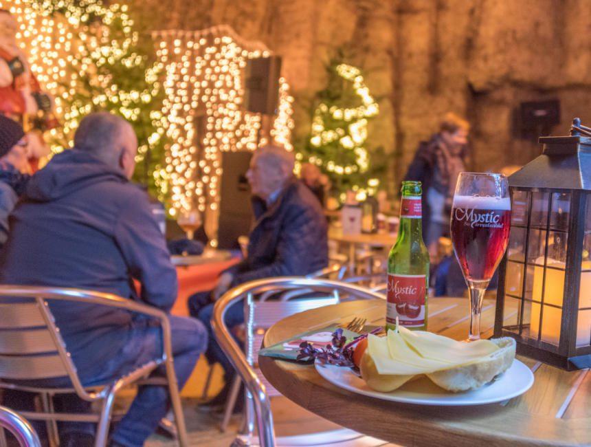 kerstgrotten valkenburg restaurant