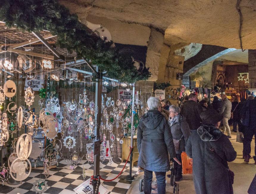 kerstmarkt valkenburg fluweelengrot