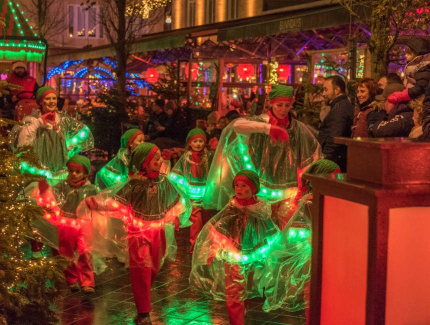 kerstparade valkenburg