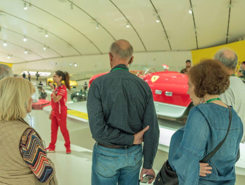 rondleiding ferrari museum