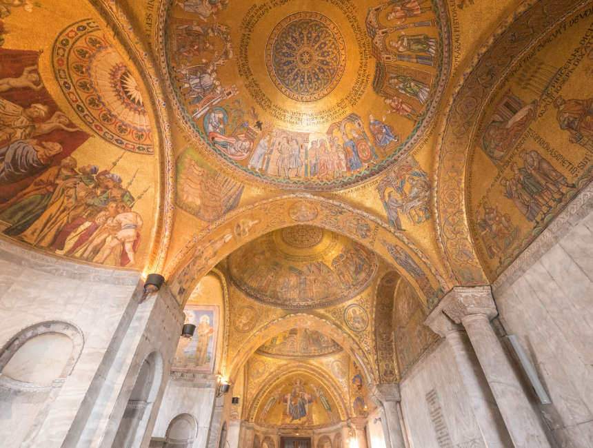 San Marco Basiliek interieur binnen