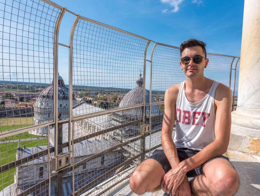 schuine toren van Pisa